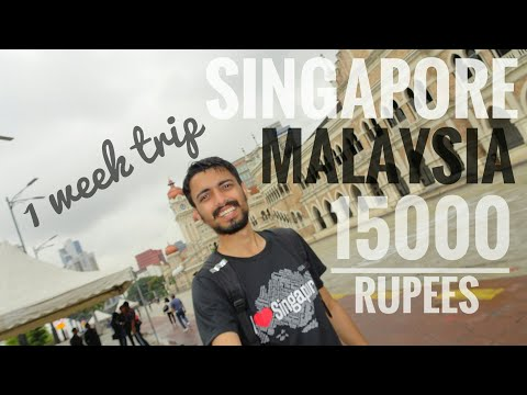 My Full Expense Video of Malaysia and Singapore | How I Did whole Tour in 15000!! Part # 17