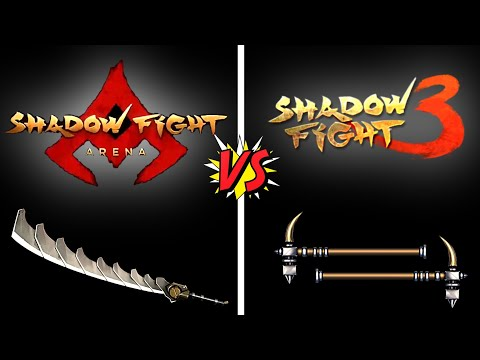 Shadow fight ARENA vs Shadow Fight 3 | RELEASE DATE | gameplay comparison & many more