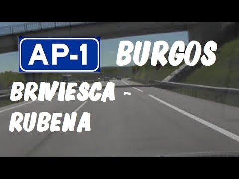 AP-1 Autopista del Norte , Zona Briviesca - Rubena , Burgos / Expressways in Spain