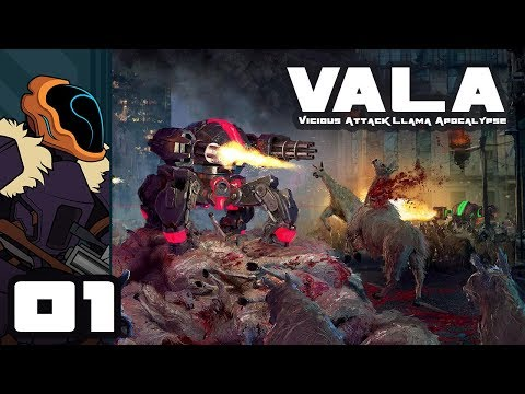 Let's Play Vicious Attack Llama Apocalypse - PC Gameplay Part 1 - Prepare For Puns