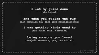 Download Someone you loved - Lewis Capaldi [Lirik Lagu + Terjemahan]