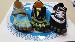 Descalzos zapatillas pies