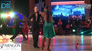 Part 3  Approach the Bar with DanceBeat! Paragon 2017! Amateur Latin Ewoud Fidom and Melanie Weiler!