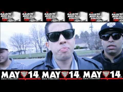 Masacre Musical Invasion Tour Mayo 14 Silo Night Club Pa Youtube