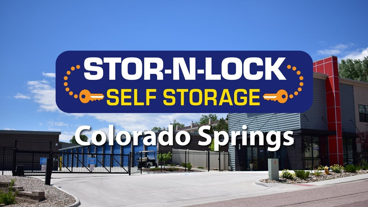 Storage Units Colorado Springs New State Of The Art Facility