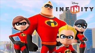 LOS INCREÍBLES en Español - Videos de Juegos de Dibujos y Caricaturas para Niños - Disney Infinity