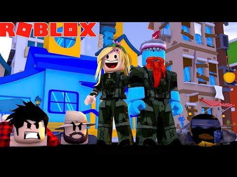 BAD BOYS THE MOVIE #3 WE ARE THE COPS !!! Sharky Roblox w/ Little Kelly