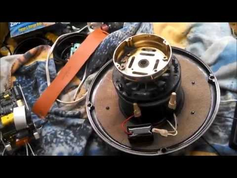Converting a Casablanca InteliTouch Ceiling Fan Motor to single speed FULL WITH FAN TEST