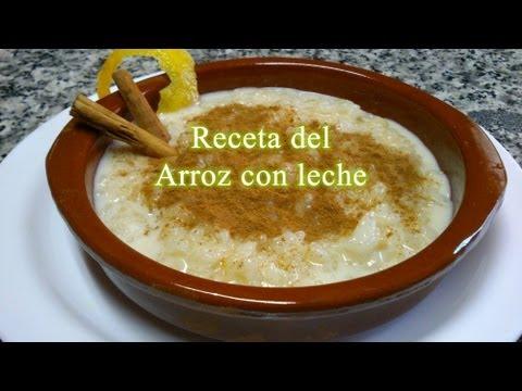 Cómo hacer arroz con leche / Receta fácil Receta práctica video receta