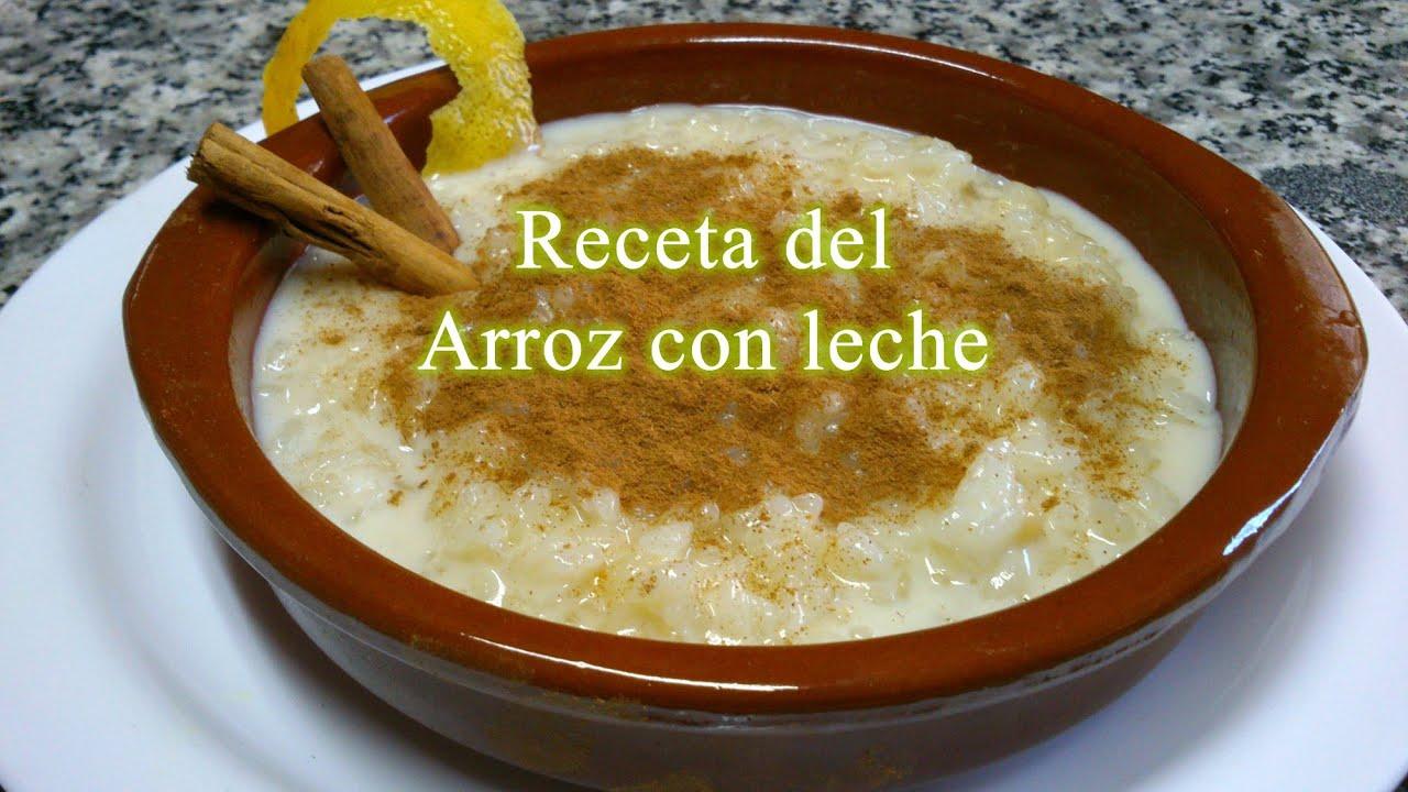 C mo hacer arroz con leche receta f cil youtube for Como se cocina el arroz