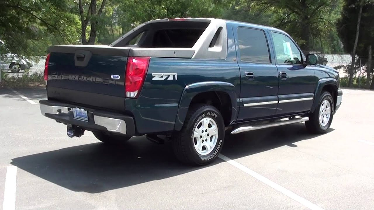 For sale 2005 chevrolet avalanche lt 1 owner stk p6160a www lcford com youtube