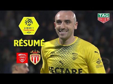Nîmes Olympique - AS Monaco ( 3-1 ) - Résumé - (NIMES - ASM) / 2019-20