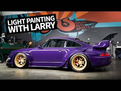 Insane Car Collection at Galpin Auto Sports! Light Painting School With Larry Chen