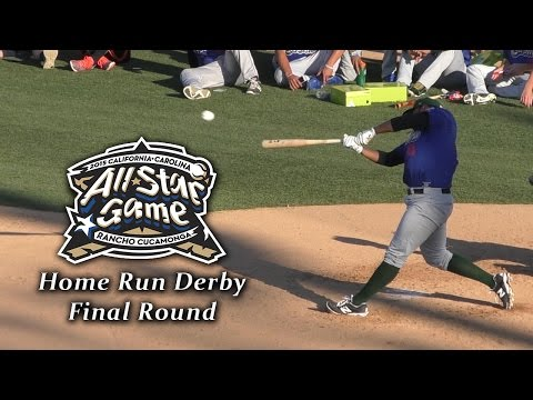 Nellie Rodriguez and A.J. Reed Battle for MiLB Home Run Derby Crown