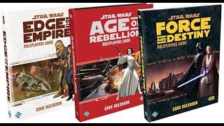 Gaming Monk Review: The Star Wars RPGs (Part 4: The Genesys Trilogy)