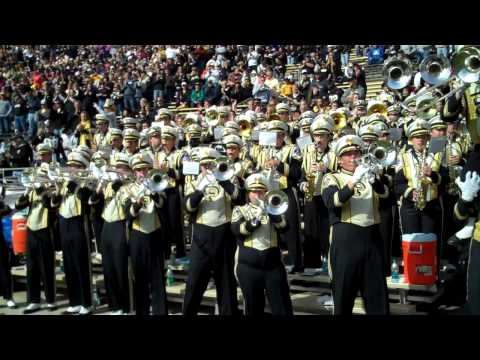 Hail Purdue after Touchdown. Homecoming vs. Illinois 10/22/11, Play-Play