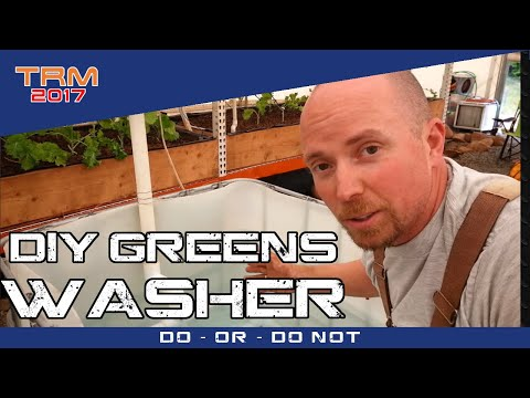 the PERFECT HOMEMADE Microgreen washer