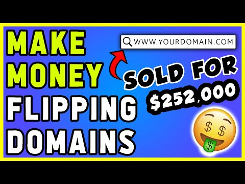 How To Make Money Flipping Domains | $5,000 a MONTH (NEW 2020 Method)