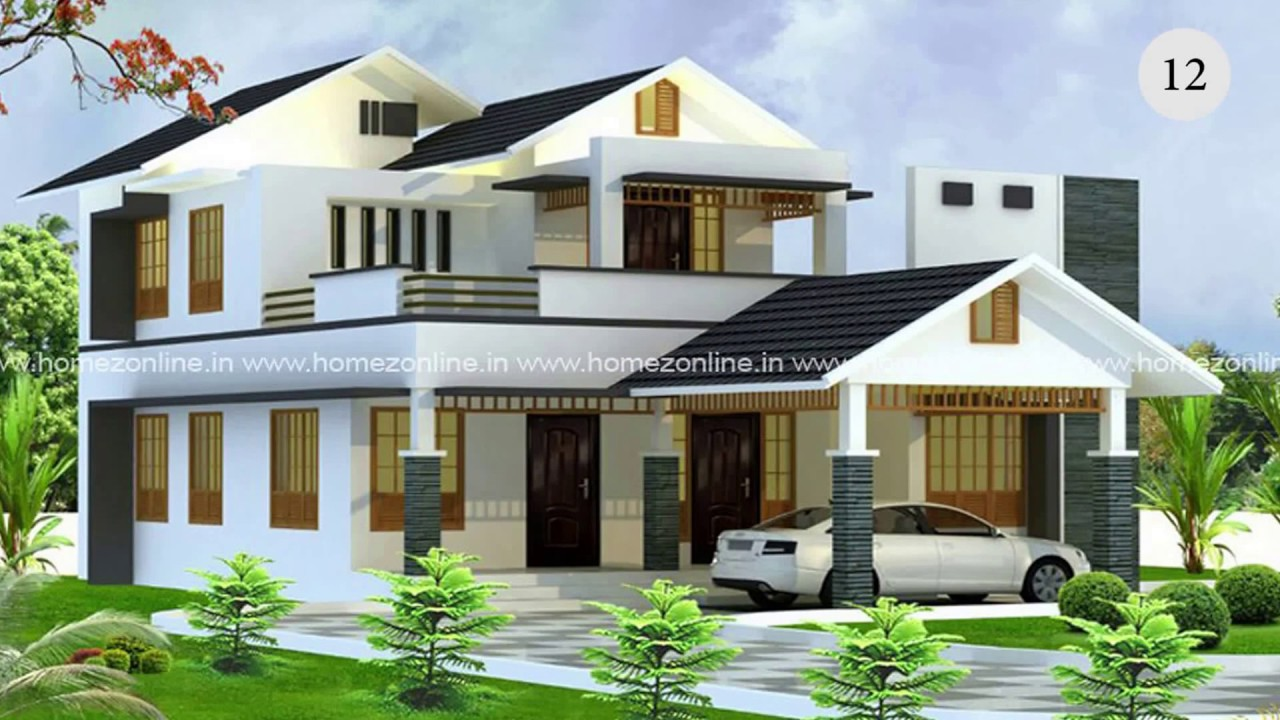 30 must watch latest hd home designs 2017 youtube for Latest house design images