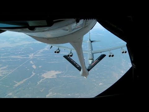 Air Refueling (B-52, KC-135, F-16, F-15, F-35) - Bomber & Fighter Jets
