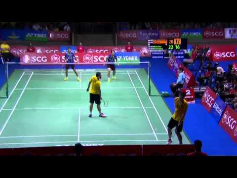 SCG Thailand Open 2015 | Badminton F M3-MD | Ary/Yuf vs Koo/Tan