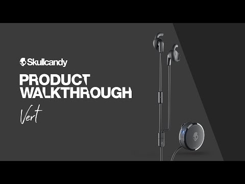 Vert Clip-Anywhere Wireless Earbuds   Product Walkthrough   Skullcandy