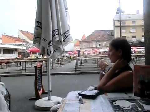 Restaurant in Market Dolac Zagreb