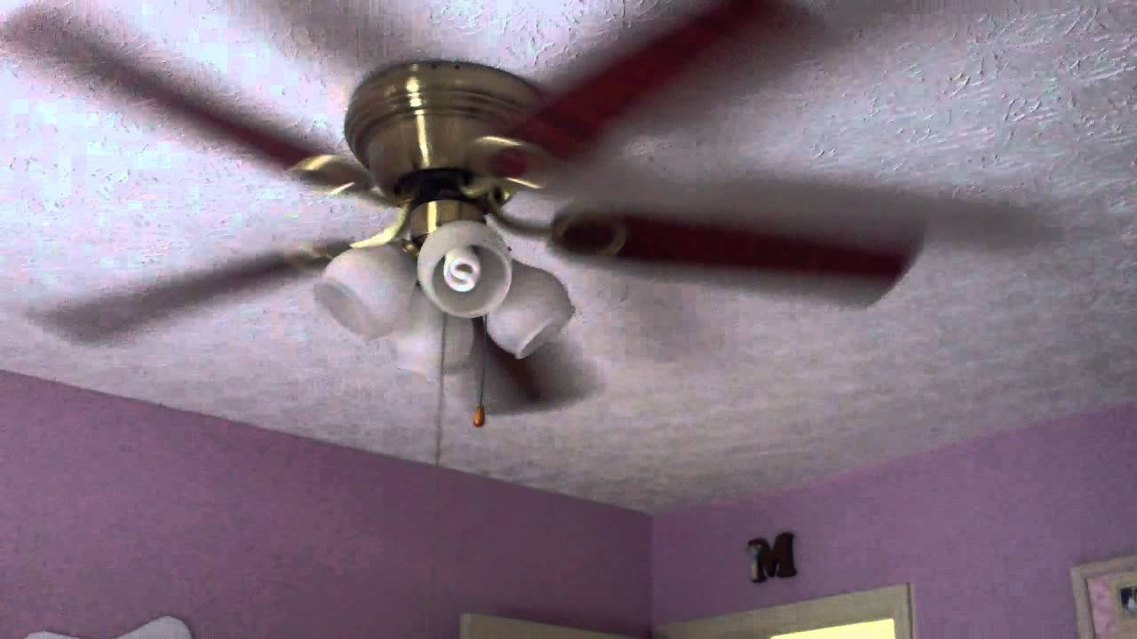 52u0026quot; 2nd Harbor Breeze Cheshire Ceiling Fan - YouTube