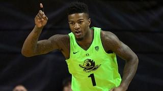 Highlights: Oregon men's basketball tops Utah for 41st-straight home win