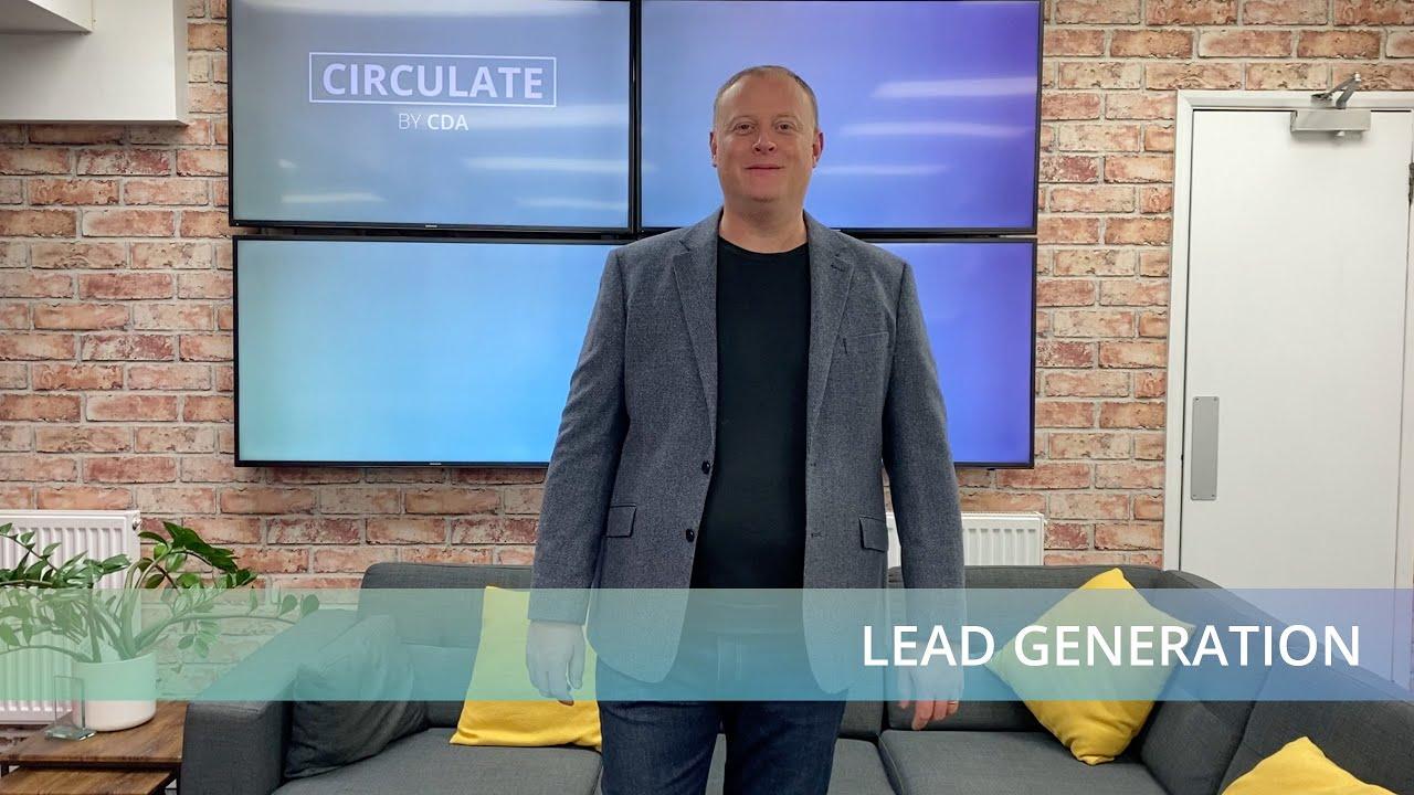Lead Generation   Circulate by CDA