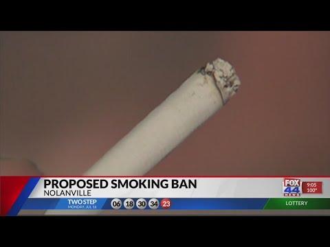 NOLANVILLE SMOKING BAN
