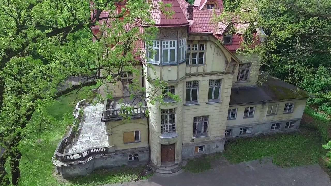 Turczynek w Milanówku (widok z drona) - YouTube