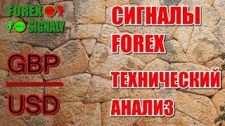 Технический анализ # GBP/USD H4 # бесплатные сигналы форекс