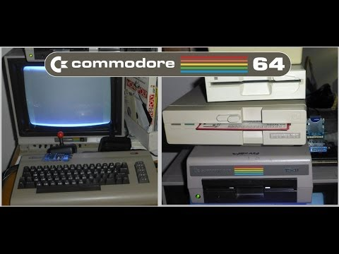 hook up commodore 64