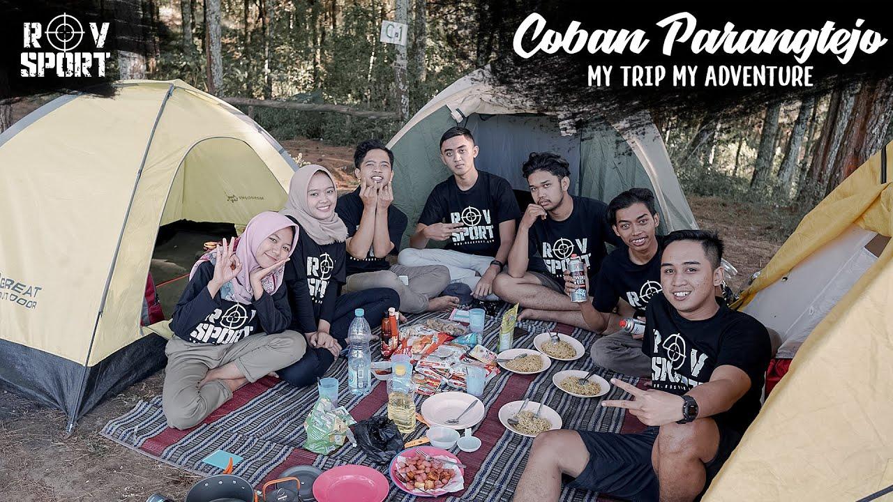 [ HOLLIDAY ] ROV SPORT CAMP DI COBAN PARANG TEJO MALANG