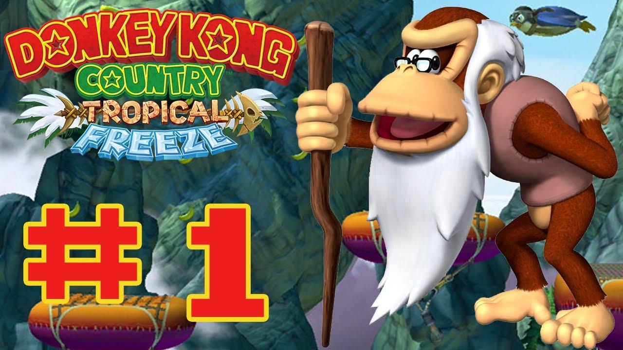 Donkey kong country tropical freeze ba boom