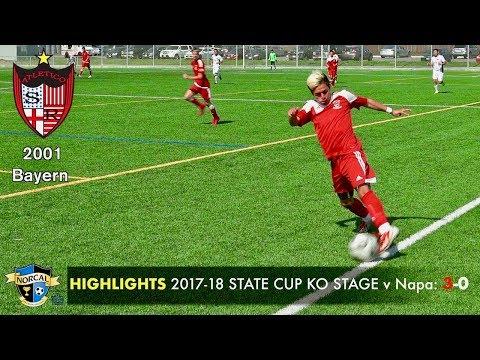 2018 3 11 HIGHLIGHTS ASR '01 Bayern State Cup RO32 KO Stage v Napa