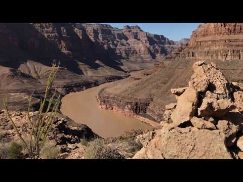 Walking in Grand Canyon