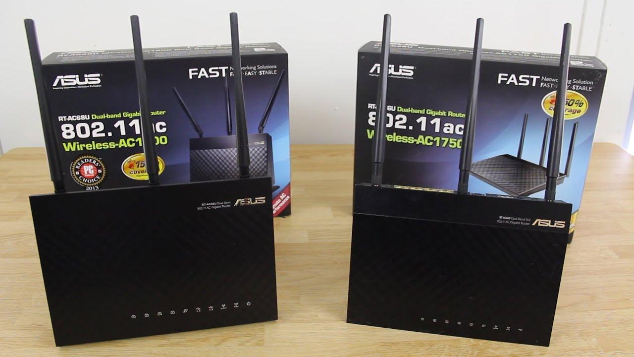 Asus Rt Ac68u Wireless Ac1900 Dual Band Gigabit Router