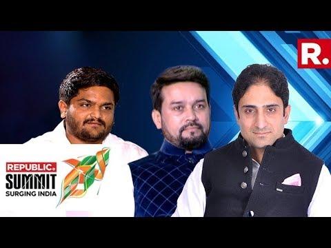 Anurag Thakur, Junaid Mattu & Hardik Patel Discuss The Future Of The political Surge In India