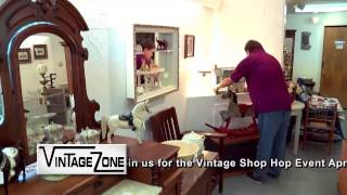 Vintage Zone Get into the Zone 30 Shop Hop Crawl