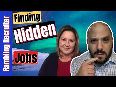 Accessing The Hidden Job Market - Find Unadvertised Jobs