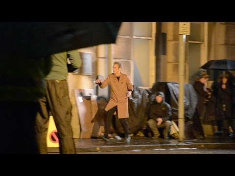 Doctor Who Filming Series 8 - Doctor and his Sonic Screwdriver