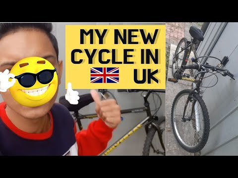 😍 I bought bicycle in UK 🇬🇧   🤔 Benefits of having bike in England   👨🎓student life in UK 🇬🇧 thumbnail