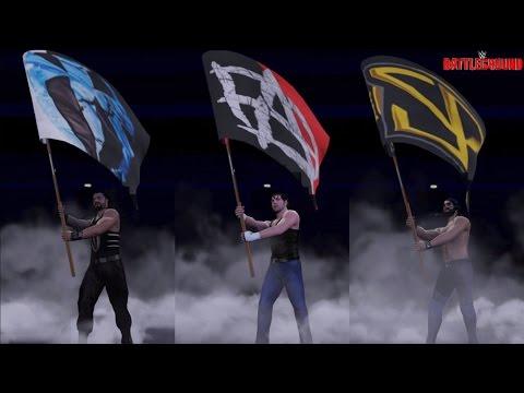 WWE 2K16 Battleground 2016 The Shield...
