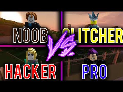 Noob vs Glitcher vs Hacker vs Pro [Roblox Jailbreak Edition]
