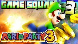 GAME SQUAD | Mario Party 3 - Deep Blooper Sea: Part 3 (LUIGI