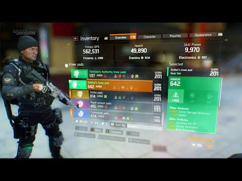 THE DIVISION - GEAR SET HIGH END GEAR, INCURSION GAMEPLAY, & GUN CRAFTING! (The Division DLC)