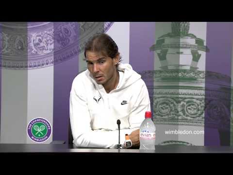 Rafael Nadal Second Round Press Conference