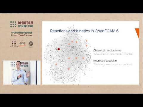 OpenFOAM Open Day 2018: Reactions and Kinetics in OpenFOAM 6